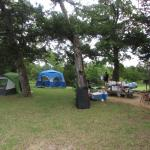 Our Campsite at Rock Tower