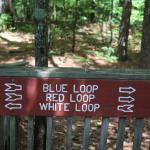 Loop trail signs - Your choices