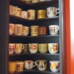 Quirky cup collection in The Big Orange