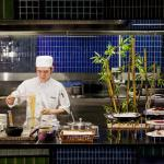 Live Noodle Station at Azur Restaurant