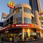 McDonalds at sunrise 7am