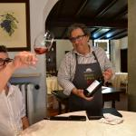 Chef Beppe Sardi presents the Grignolino wine