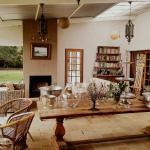 Marvellous setting to enjoy cake and coffee - relaxing in the Free State