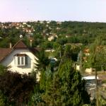 View from room - only 10 min away from city center