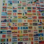 Nacionalidades dos hóspedes recebem marcas. Eu fui o primeiro brasileiro!