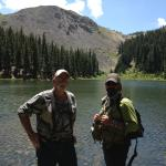 Alpine lake we visited with Jeremy of Turquoise Trout.  Great scenery, even better fishing.  Tha