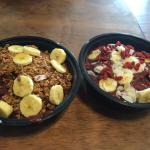The Acai Bowls were fresh and delicious