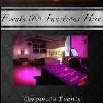 Events & Functions Hire