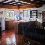 Mango Cottage kitchen and living room