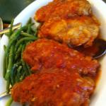 Baked chicken in sauce