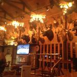 Walls of the bar