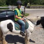 My boyfriend riding :)