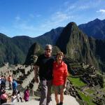 At the Amazing Machu Picchu.