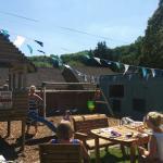 The greenest and sunniest beer garden in Bakewell.