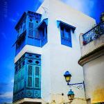 Charming white and blue. Sidi Bou Said.  #AdamTasImages