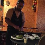'Top Shelf Guacamole' made at your table