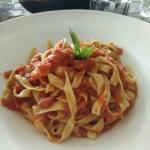 tomato pasta, the best!