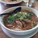 Thai duck noodle soup $11 so good!