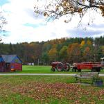Tractor and wagon for hayrides