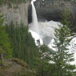 Helmcken Falls in winter