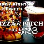 Pizza & Pitcher $28