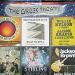 Greek Theater Summer Shows 2015, Berkeley, Ca