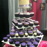 A wedding display by Gigi's Knoxville/Turkey Creek at the bridal show