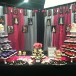 The Gigi's display at the bridal show in Knoxville