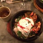 This meal (Monk Bowl with Kimchi) was such a filling and tasteful meal. The kimchi cup, as an ap