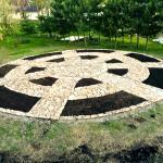Stone Mosaic at Mandala Gardens