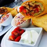 Tortilla Wraps with Chicken & Beef
