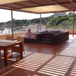 VIP suite balcony