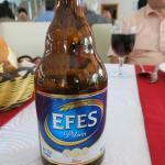 飲んだトルコのビール、おいしい