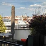 Edmond balcony view