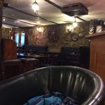 The pub, nice that it's open to the public and guests. Gives you a chance to meet more travelers