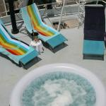 Enjoy and relax in our jacuzzi on the St. Katharine