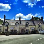 The Hand at Llanarmon - Outside