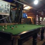 New, pool table