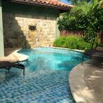 Mediterranean One Bedroom Butler Villa Suite with Private Pool Sanctuary Courtyard