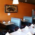 Inside Restaurant Seating