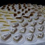 round desserts