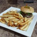 Delicious Moose Burger!!!