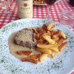 Amazing scallops and filet mignon @ Le Palissy Chez Norbert