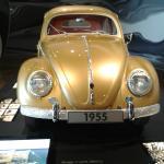 Der einmillionste VW-Käfer von 1955.