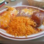 Chile Relleno/Beef Tamale/Rice/Beans Lunch Special