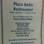 Pizza Bella Restaurant