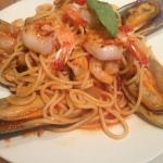 Seafood pasta.....delicious!