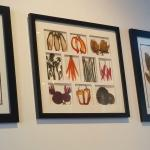 Bright, vegetable, framed decor, Wild Poppy Bistro  |  541 First Avenue, Ladysmith, British Colu