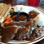 Buffalo meatloaf