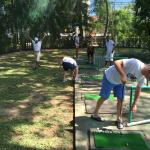 Golf learning session